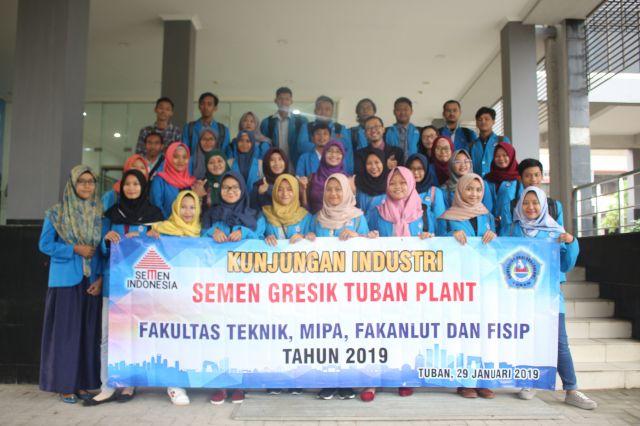 Kunjungan industri ke PT Semen Indonesia di Tuban
