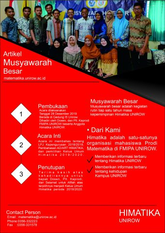 Musyawarah Besar Himatika Periode 2018/2019